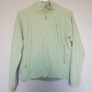 Northface Fleece mint green